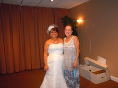 Me, with Bride, Annamae, at her wedding at the Danversport Yacht Club, Danvers.