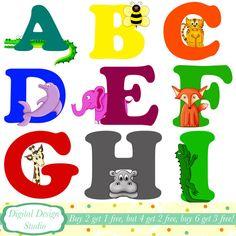 Floral Alphabet Clipart Alphabet Clipart Letters M To R Floral