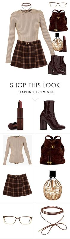 """#4369"" by toyin-t ❤ liked on Polyvore featuring Fashion Fair, Marc Jacobs, Balmain, Chanel, Jimmy Choo and Tom Ford"