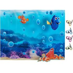 Finding Dory Room Decorating and Photo Booth Kit