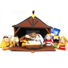 Plush nativity for the kiddos
