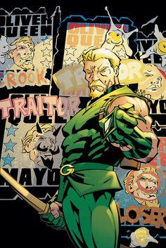 Green Arrow #74 cover by Scott McDaniel & Andy Owens