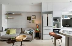 Minimalist small living room decoration design