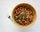 Kürbis-Gnocchi (Vegan, Paleo) Gnocchi Vegan, Paleo Vegan, Quinoa, Dog Food Recipes, Grains, Berries, Rice, Blog, Dog Recipes