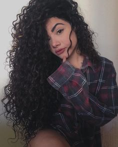 Her eyebrows. Long Curly Hair, Curly Girl, Big Hair, Curly Hair Styles, Your Hair, Natural Hair Styles, Natural Curls, Permed Hairstyles, Cute Hairstyles