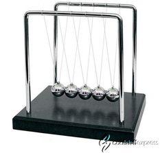 Swinging Sticks Pepper Potts Kinetic Desk Toy In Iron