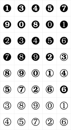 Numerals by ParaType - Desktop Font and WebFont - YouWorkForThem