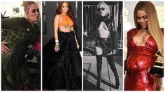 Móda na hudebních cenách Grammy: Až na Adele odhalovaly zpěvačky, co mohly! FOTKY   Frekvence 1