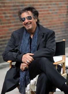 I've always loved Al Pacino since I was a young kid. I think I've seen everyone of his movies... He was such a hottie in The Godfather. I crush on Micheal every time I watch that movie.