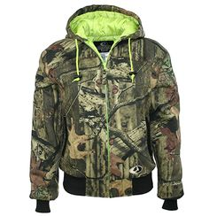 Perfect for hunting season, check out our brand new Mossy Oak Women's Insulated Fleece Jacket!