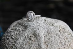 The most perfect vintage style oval diamond engagement ring. The love the ring my fiancé designed for me.