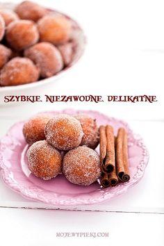 Paczki na serku homogenizowanym Gimme Some Sugar, Polish Recipes, Food Cakes, Beignets, Good Ol, Doughnuts, Cake Recipes, Cereal, Sweet Tooth