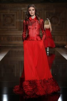 5181eb65891 Catwalk photos and all the looks from Tony Ward Autumn Winter 2016-17  Couture