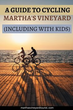 A guide for cycling Martha's Vineyard (and the best bike routes on Martha's Vineyard Us Travel Destinations, Places To Travel, Travel With Kids, Family Travel, Bike Trails, Biking, East Coast Travel, Massachusetts Usa, New England Travel