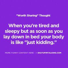 Hahaha...true!