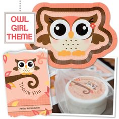 A theme that is OWL ways cute! Fall in love with this Owl Girl baby shower theme.  #OwlGirlBabyShower #FallBabyShower #BigDot