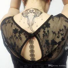 Finden Sie die besten  50pcs / lot gotik lace temporary tattoos aufkleber henna übergangstätowierung frauen make up dekoration js003m zu Großhandelspreisen aus Chinas tätowierung Anbieter worlddeal auf de.dhgate.com.