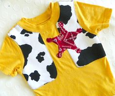 Toy story Woody inspired shirt