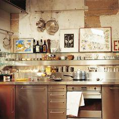 TRIO DESIGNER: Cozinhas em Inox - dica: Fabrinox