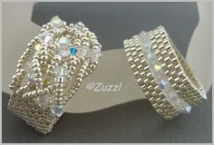 Alles Meins!: bright silver Mania bright silver, bead ring, peyot ring, braid ring, bead band, silver mania