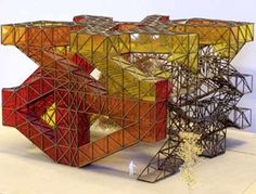Presentation models made of different materials | Architectural Model Making | Trotec Laser Systems