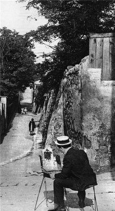 رندان - streloff: Georges Seurat Жорж Сёра за работой