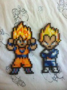 Goku and Vegeta by Dat-Boi-T