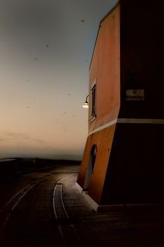 The Evening's Color (II): by Walter Caterina #Photography #Digital #Construction #Edifice #House