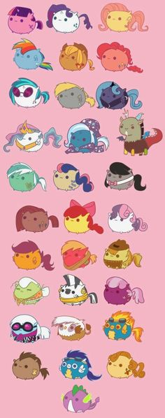 Pusheen in my little pony!!!!!!!!!!!!!!!!
