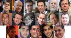 Les 17 victimes des attentats perpétrés par trois djihadistes autoproclamés à Paris en janvier 2015.