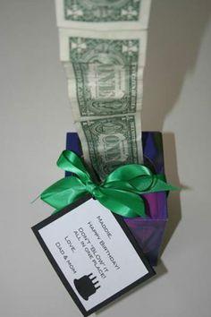 Geld uit tissuebox