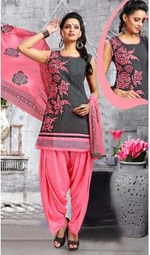Chanderi Silk Slate Grey Color Straight Cut Punjabi Patiyala Readymade Dresses   FH500476558 #punjabi , #patiyala, shindhi, #suits, #narrow, #dresses, #salwar, #kameez, #straight, #long, #heenastyle, #indian, #online, #shopping, #clothing, #womens, #girls, #style, #mode, #henna, #hina, #mehendi, #dupatta, #chudidar, @heenastyle , #pakistani, #readymade
