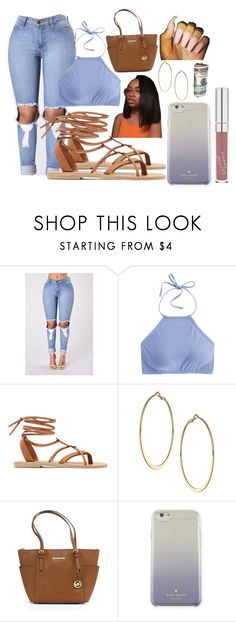 """""""Untitled #7"""" by nkhelj ❤ liked on Polyvore featuring J.Crew, Valia Gabriel, Dorothy Perkins, Michael Kors and Kate Spade"""