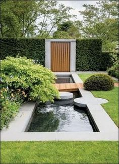 14 Ideas Of Modern Landscape Design For Living House – Dream Backyard – Modern Backyard Modern Landscape Design, Lawn And Landscape, Landscape Architecture Design, Contemporary Landscape, Modern Backyard, Ponds Backyard, Modern Landscaping, Front Yard Landscaping, Backyard Ideas