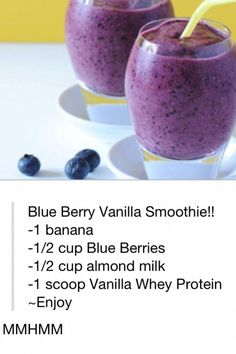 I replace the vanilla whey protein with tsp of vanilla extract, and add ice. - I replace the vanilla whey protein with tsp of vanilla extract, and add ice…. – I replace t - # Smoothie Fruit, Vanilla Smoothie, Yummy Smoothies, Breakfast Smoothies, Smoothie Drinks, Yummy Drinks, Healthy Drinks, Whey Protein Recipes, Whey Protein Shakes
