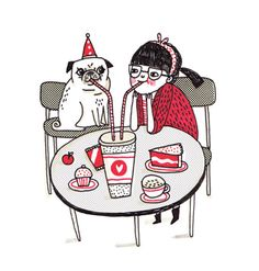 Blog: Sunday Grins! with Gemma Correll - Doodlers Anonymous