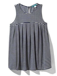 Knit Stripe Pleated Top Product Image