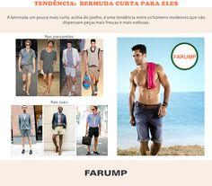 Para combater o calor e a monotonia do estilo masculino, invista nas bermudas curtas! Elas são mais ousadas e estão com tudo para o verão 2013.
