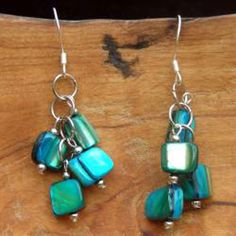 Fair Trade Handmade mother-of-pearl-earrings