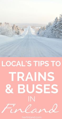 Coming to Finland and thinking of using buses or trains? This easy guide is for you! Best tips by a local #finlandtravel #train #transportation