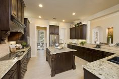 Perry Homes Design 4888S - Foyer & Grand Staircase | Havenwood ...
