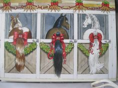 Horse Christmas Cards Christmas Is Coming Winter Christmas Christmas Cards Horses Christmas