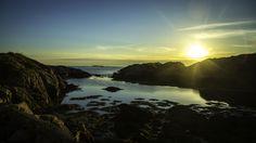 Sunset in Honningsøyo, Averøy, Norway