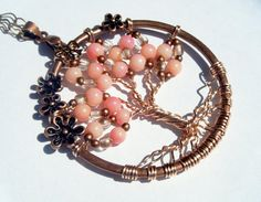 Hawaiian Tree of Life Necklace by CandiSuesCreations on Etsy, $32.00