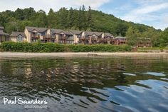 Lodge on Loch Lomond in Luss. Click on the image to purchase as a print.
