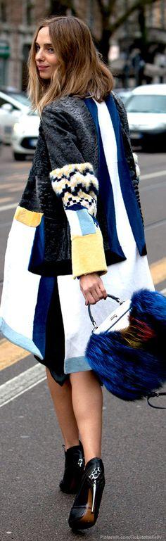Street Style | Colorblock