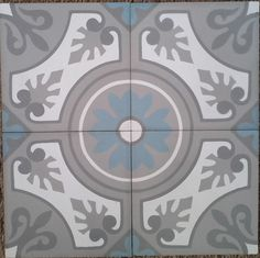 Carreaux ciment: modèle Old Lilly 14X14