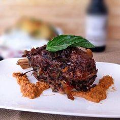 Java Stout Braised Lamb Shanks