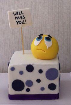 Goodbye cake Abschiedstorte