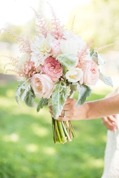 Blush Pink Bridal Bouquet | Caynay Photo, LLC https://www.theknot.com/marketplace/caynay-photo-llc-madison-wi-819538